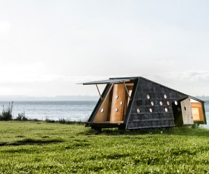 LUMO Installs Shelters in the Danish Archipelago