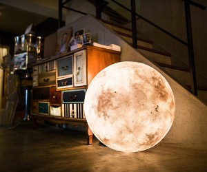 Luna Moon Lamp by Acorn Studio