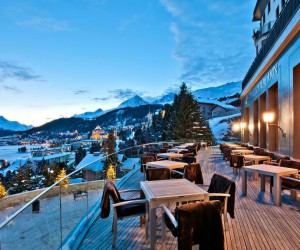 Luxurious Hotel in St Moritz with Wonderful Views of the Mountains