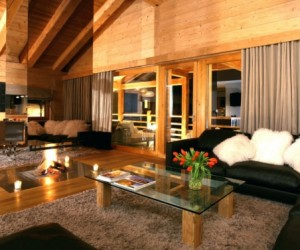 Luxurious spa chalet in Switzerland