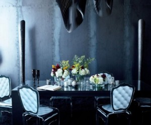 Luxury Black Interiors Render Gothic Ambitions in 3D