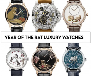 Luxury Brands Launch The Year of The Rat Watches