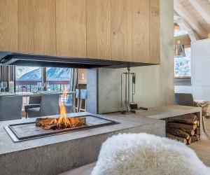 Luxury chalet located in a private hamlet