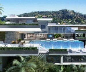 Luxury Mansions on the Sunset Strip, L.A.
