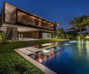 Luxury Miami Beach House with Man-Made Lagoon Could Be Yours for 29.75M