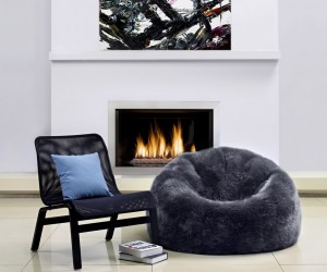 Luxury Sheepskin Bean Bag