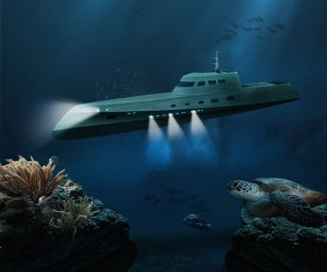 Luxury Submarine Underwater Getaway