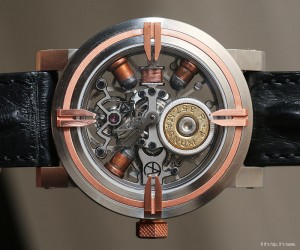 Luxury Watches Made With Real Bullets and Cartridges