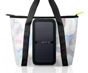 Luzpac: A Bag That Charges Your Devices