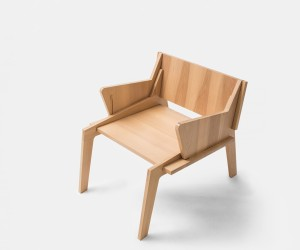 Macadamia chair by Collaptes