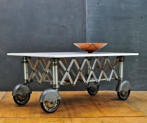 Machine Age Vitrolite Coffee Table