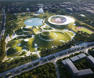 MAD Architects Quzhou Sports Campus,China