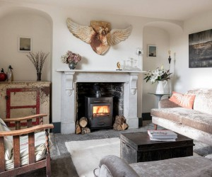 Magical Combination of Styles in a Georgian Farmhouse Located in Somerset, England