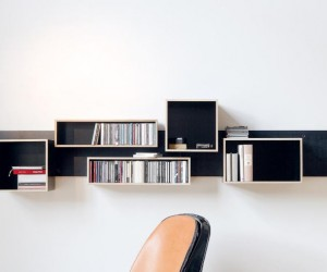 Magnetique: The Shiftable Shelves