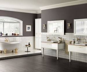 Magnifica: Luxurious Italian Bathroom True to Its Name