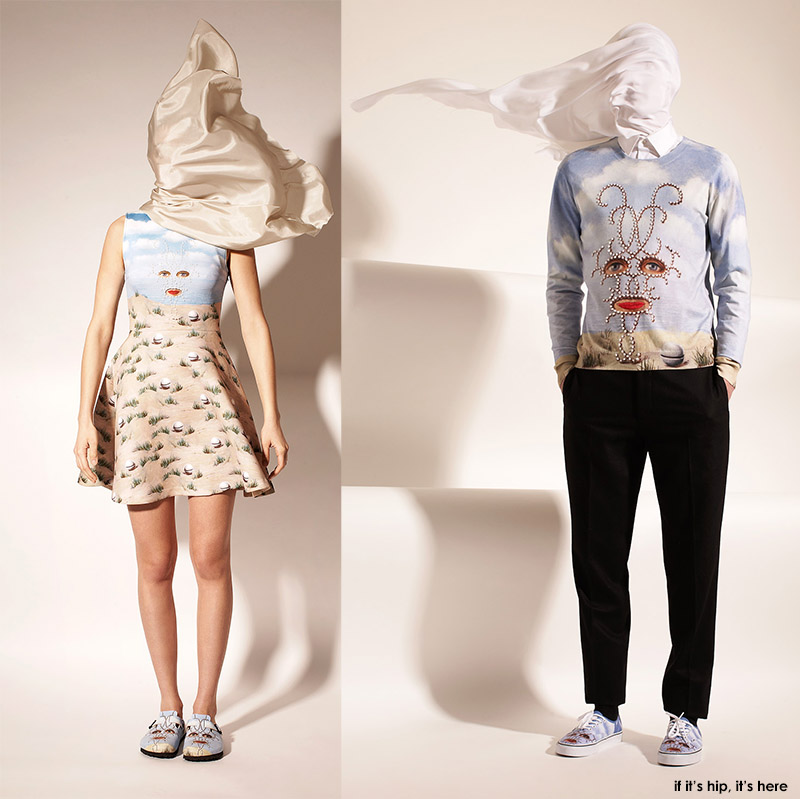 Magritte Surrealist Clothing Capsule Collection