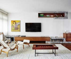 Major Renovation of an Apartment Built in the Early 60s in Sao Paulo