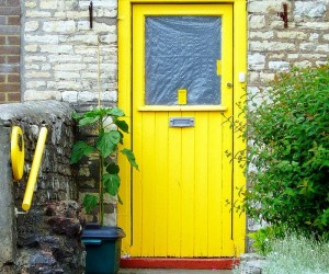 Make a Dramatic First Impression | 15 Painted Front Doors