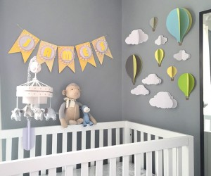 Make This Pretty DIY Party Banner Its Much Easier Than It Looks