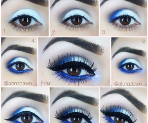 Makeup Looks for People Who Love Blue