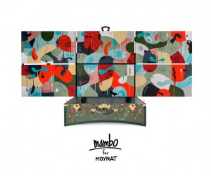 Mambos arty trunk for Moynat