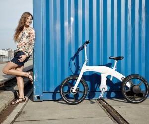 Mando Footless Folding Electric Bike