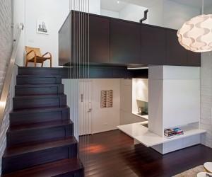 Manhattan micro loft design