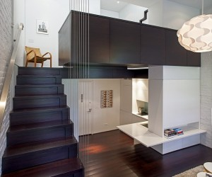 Manhattan MicroLoft  Radical Transformation of a Tiny Apartment