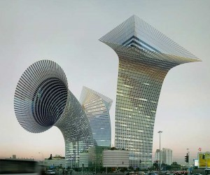 Manipulated Cityscapes by Victor Enrich