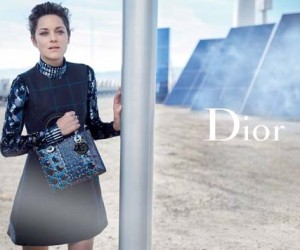 Marion Cotillard Goes Futuristic for Lady Dior