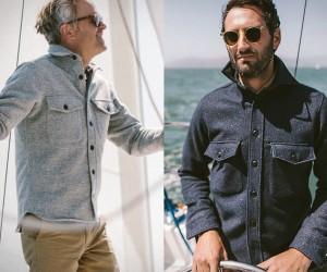 Maritime Shirt Jacket