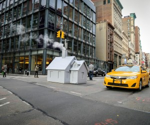 Mark Reigelman Installs Smokers in New York
