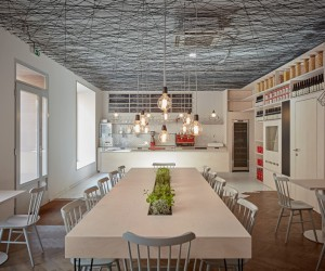 Mar.s Architects Designed the Interior of Pragues Lasagneria Bistro