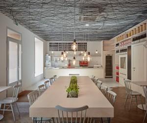 Mar.s Architects Designed the Interior of Pragues Lasagneria Bistro