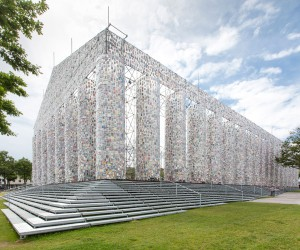 Marta Minujn Unveils The Parthenon of Books