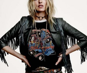 Martha Hunt Poses in Latest Free People Festival Lookbook