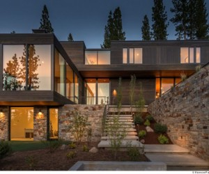 Martis Camp 506 in California by Blaze Makoid Architecture