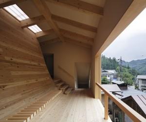 Marumoto Inn Bath Hut by Kubo Tsushima Architects