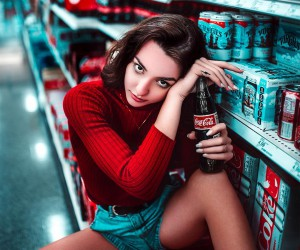 Marvelous Female Portrait Photography by Benjamin Szentply