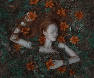 Marvelous Fine Art and Dark Beauty Portraits by Viktoriya Dovbnya