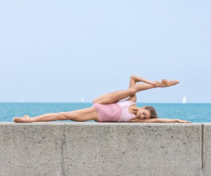 Marvelous Portraits of Ballerinas Practicing on The Streets of Chicago by Peter Hinsdale