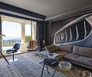 Maserati Unveils A Pop-Up Suite At Hotel de Paris in Monaco