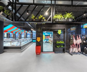 Masquespacio designs Soleras Supermarket in Cologne
