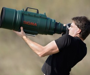 Massive Ultra-Telephoto Zooming Lens | Sigma