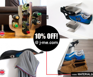 materialicious Exclusive | Get 10% Off j-me.com products