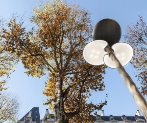 Mathieu Lehanneur designs Solar-Powered Street Lamps