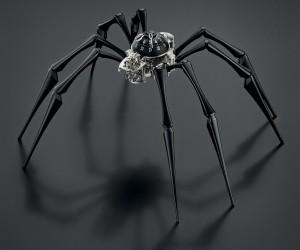 MBF Arachnophobia Table Clock