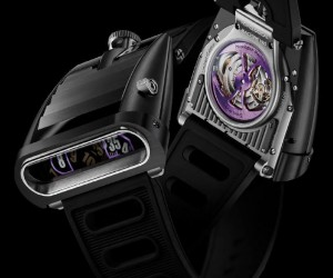 MBF Unveils HM5 CarbonMacrolon Watch