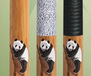 McDermott Panda WildFire Bamboo Cue - Made With Lamboo