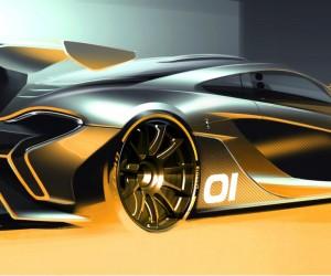 McLaren previews P1 GTR concept ahead of Pebble Beach debut